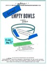 Virtual Empty Bowls 2020 Poster