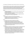 LTC Resource: Developing a social contract for hybrid or online learning