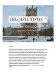 The Distance: A newsletter from the Carletonian | March 27