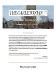 The Distance: A newsletter from the Carletonian | May 2