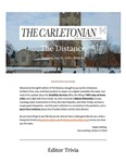 The Distance: A newsletter from the Carletonian   May 16