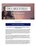 The Distance: A newsletter from the Carletonian | May 31
