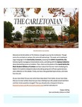 The Distance: A newsletter from the Carletonian | October 4