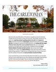 The Distance: A newsletter from the Carletonian   October 11 by Carleton College. Carletonian