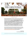 The Distance: A newsletter from the Carletonian | October 19