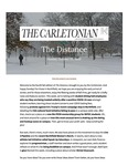 The Distance: A newsletter from the Carletonian | October  25