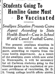 Students Going to Hamline Game Must Be Vaccinated (Excerpt)