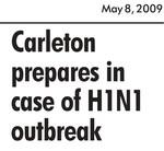 Carleton prepares in case of H1N1 outbreak