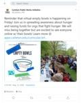 Empty Bowls 2020: Public Works Tweet May 13 by Carleton Public Works Initiative