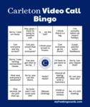 Carleton Video Call Bingo Card