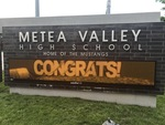 Celebrations and Reminders: A High School Sign
