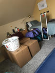 Grace Brindle - Packing Up Before Heading Home by Grace Brindle and Miyuki Mihira