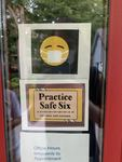 Safe Six: COVID-19 Signage at All Saints Episcopal Church in Northfield, MN