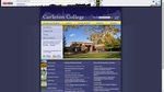 Carleton College homepage - September 7, 2009